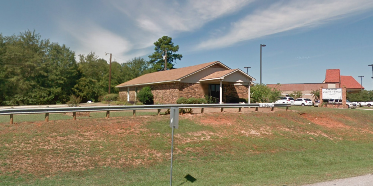Lakeside church of Christ building