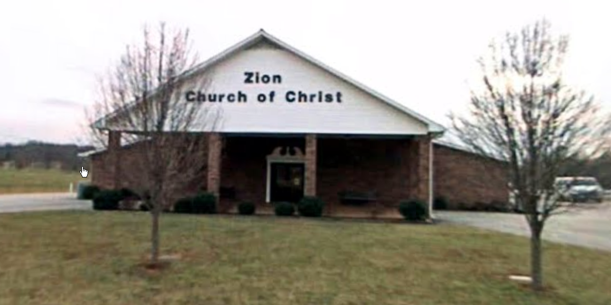 Zion church of Christ - building
